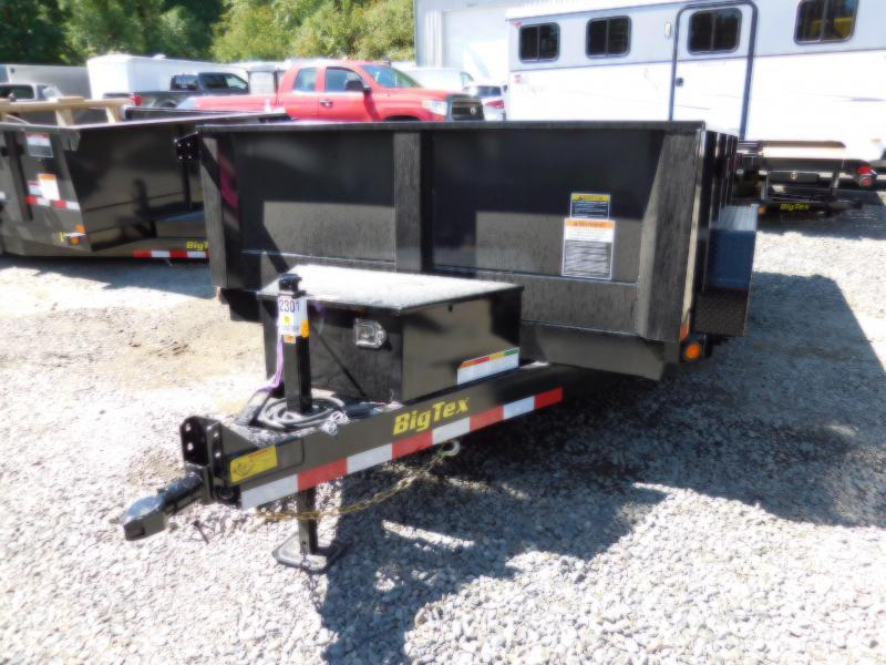 2019 Big Tex 90SR 6x10 10K Dump Trailer - Ramp Kit