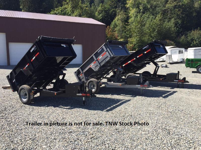 2019 ABU 5x10 Single Axle Dump Trailer with Ramps