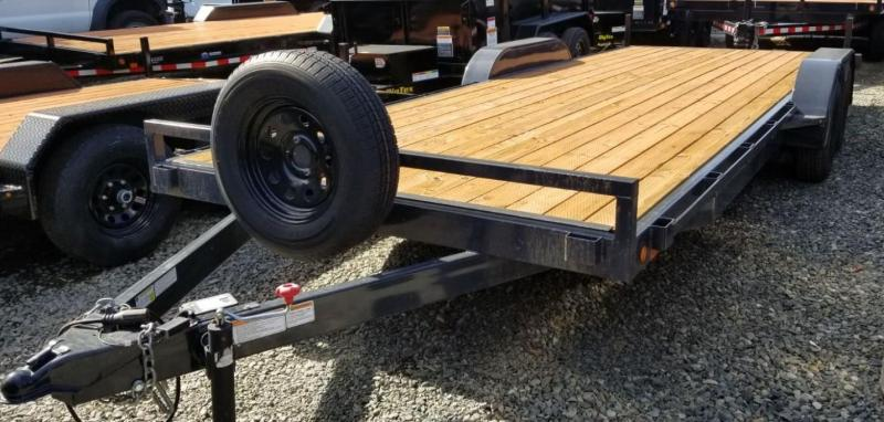2016 Iron Eagle 7x20 7K Series Flatbed Trailer