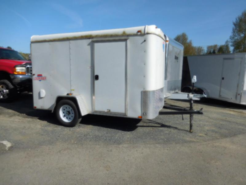 Used 2015 Interstate 6x10 Loadrunner with Rear Ramp Enclosed Cargo Trailer