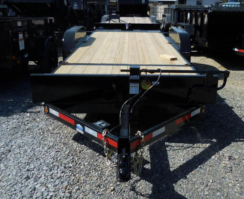 2019 ABU 80x20 3/4 Tilt Flatbed Trailer