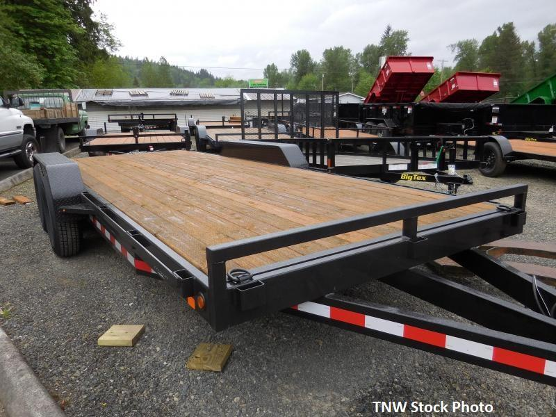 2019 Iron Eagle 7x20 14K Series Flatbed Trailer