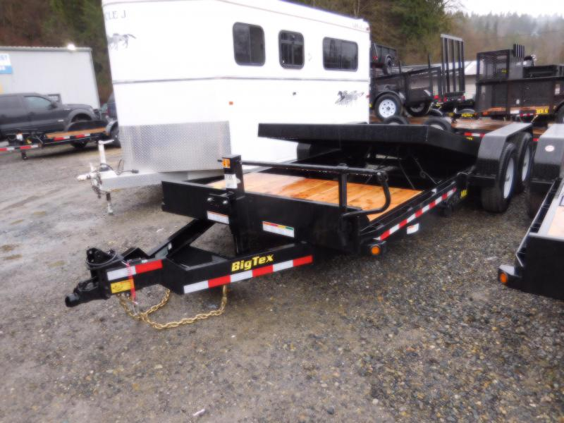 2019 Big Tex 14TL-20 14K Flatbed Tilt Trailer