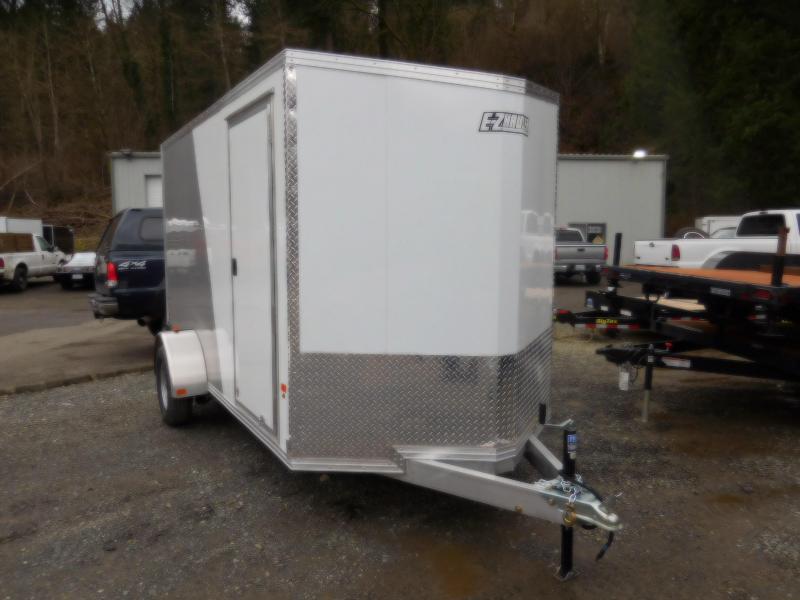 2018 EZ Hauler 6x12 All Aluminum Enclosed Cargo Trailer