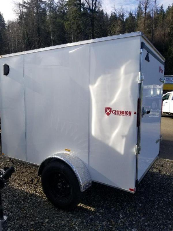 2018 Criterion 5x8 Enclosed Cargo Trailer