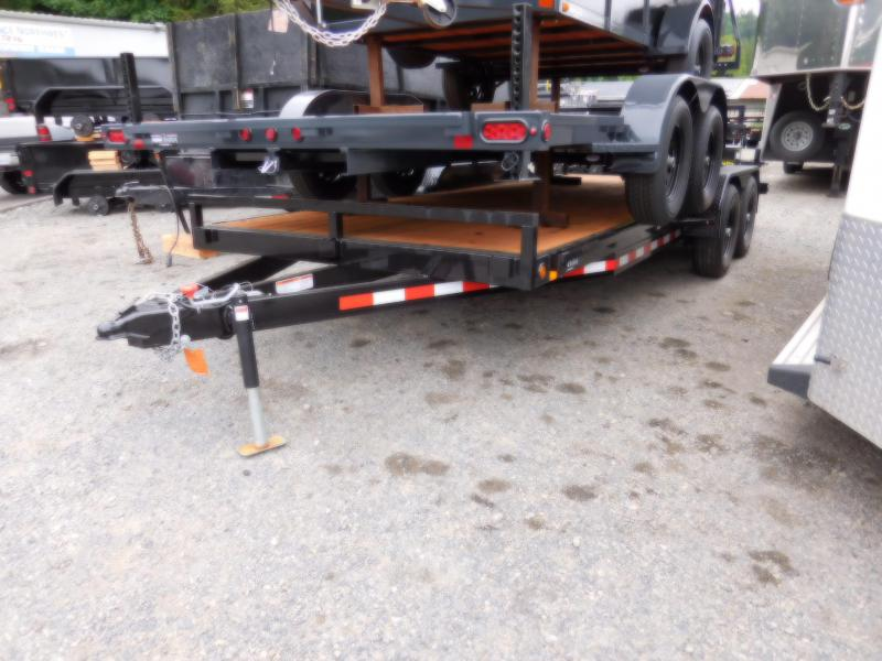 2019 Iron Eagle 7X18 10k Series Flatbed Trailer