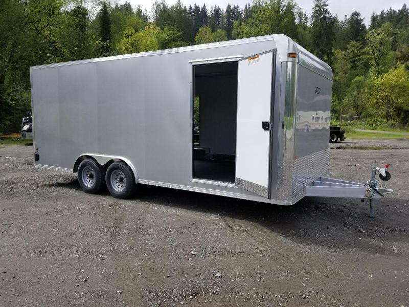 2018 EZ Hauler 8x20 All-Aluminum 10K Enclosed Car Hauler Cargo Trailer