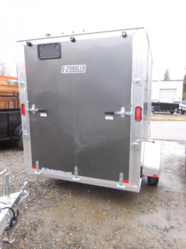 2018 EZ Hauler 6x10 All-Aluminum Enclosed Cargo Trailer