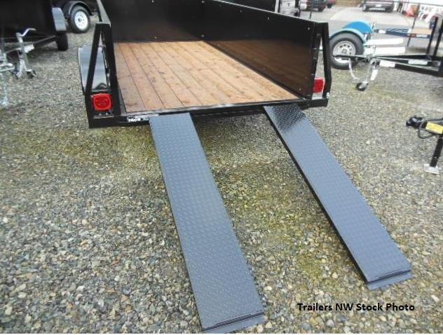 2018 Iron Eagle 5x10 Voyager Series Utility Landscape Trailer - Rear Split Ramp Tailgate **PENDING SALE!!**