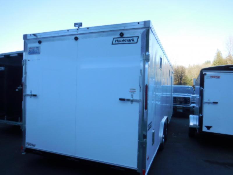 Used Custom 2016 Haulmark 8.6x24 Enclosed Cargo Car Hauler Trailer