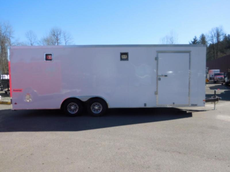 Used Custom 2016 Haulmark 8.6x24 Enclosed Cargo Car Hauler Trailer