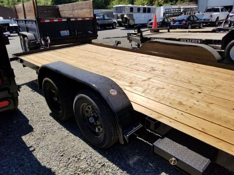 2019 Big Tex Trailers 60CH 7x16 6K Flatbed Car Hauler Trailer