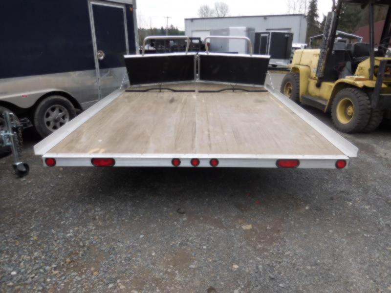 Used 2008 Triton Open Tilt Snowmobile Trailer