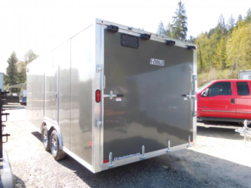2018 EZ Hauler 8x20 All-Aluminum Enclosed Car Hauler Cargo Trailer