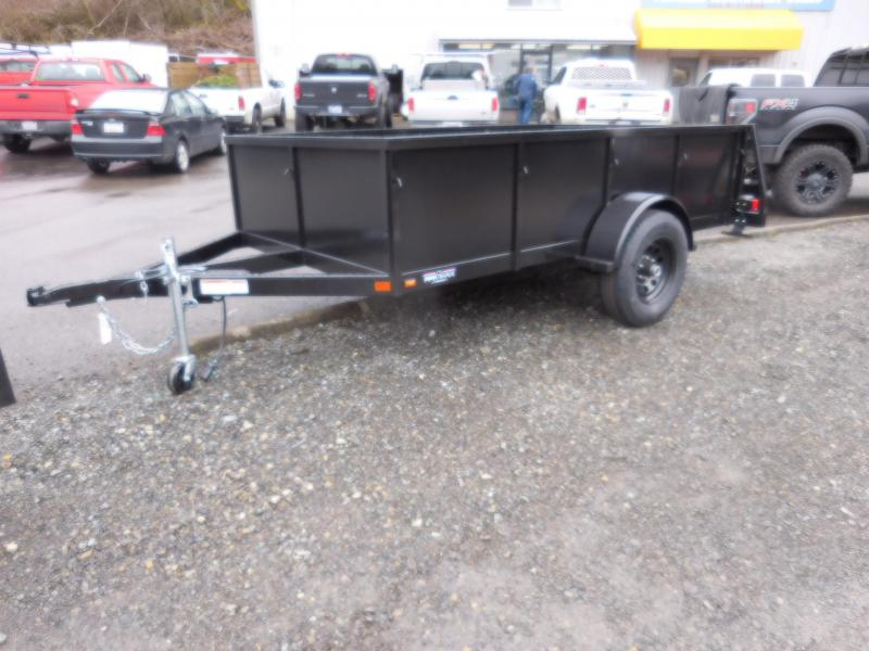 2018 Iron Eagle 5k Voyager 6x10 Utility Trailer with Combo Split Ramp Gate