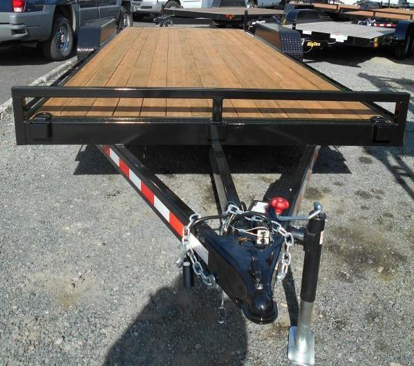 2019 Iron Eagle 7x18 10k series Flatbed Trailer