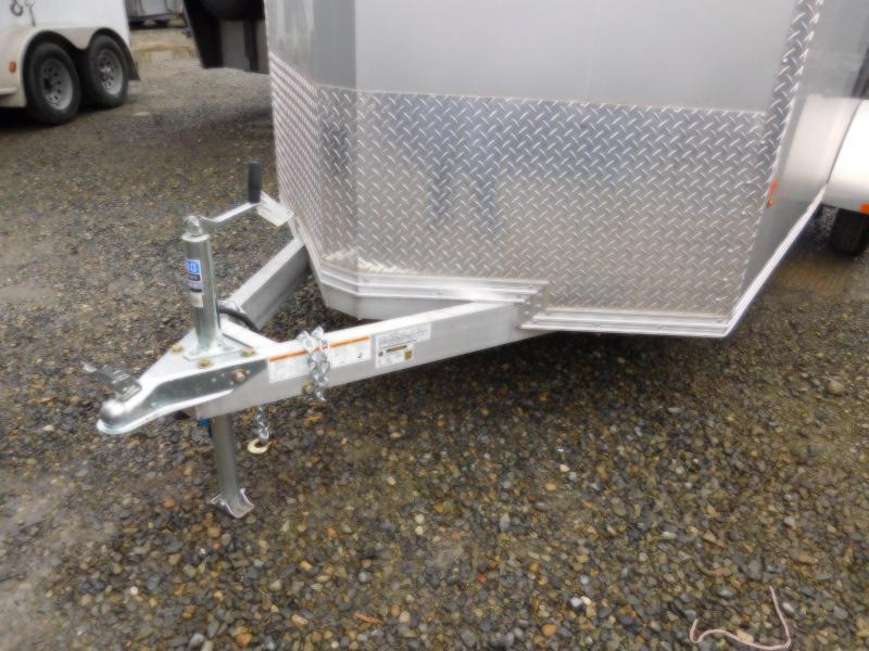 2018 EZ Hauler 6x12 All-Aluminum Enclosed Cargo Trailer - Rear Ramp