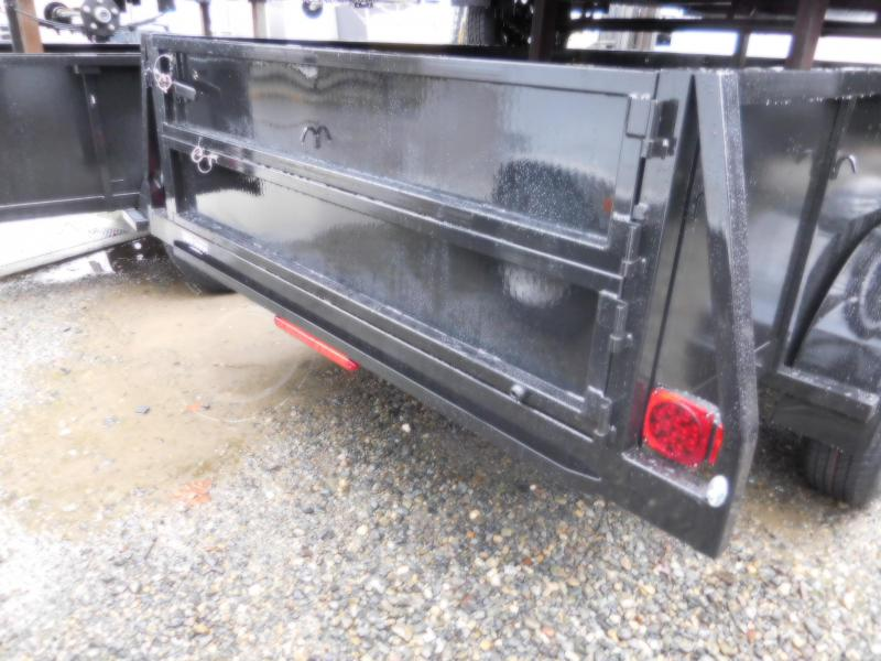 2019 Iron Eagle 6x12 TA Split Gate Utility Trailer