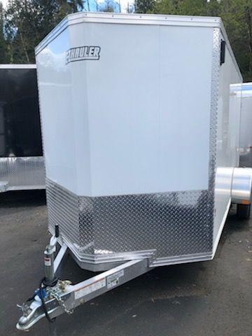 2019 EZ Hauler 6X12 All Aluminum Enclosed Cargo Trailer