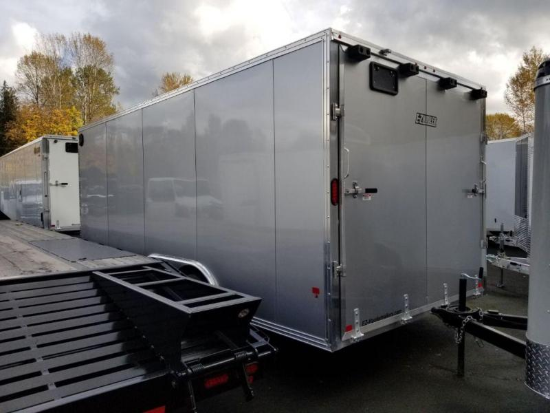 2019 EZ Hauler 8x18 V-Nose Enclosed Car Hauler Cargo Trailer