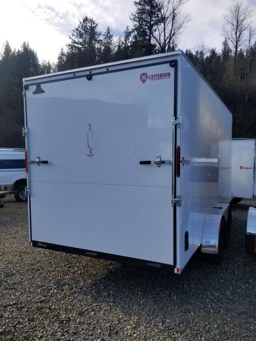 2018 Criterion  7x16 cargo Enclosed Cargo Trailer