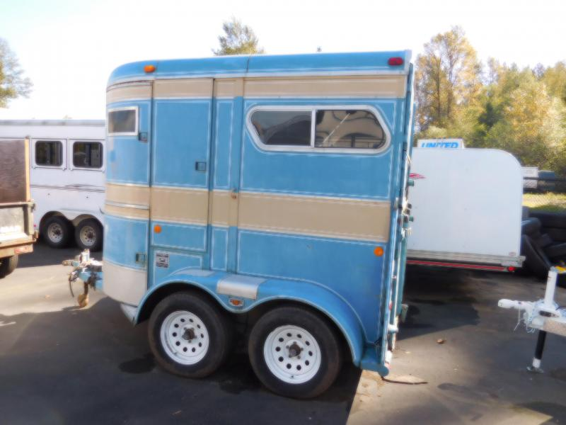Used 1978 2H Phillips - Straight Load - Ramp Horse Trailer