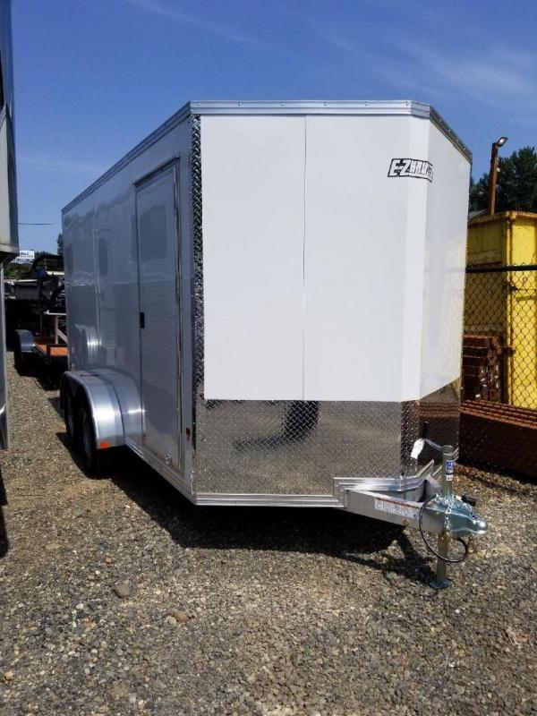2018 EZ Hauler 7x14 All-Aluminum 7K Enclosed Cargo Trailer - Barn Doors