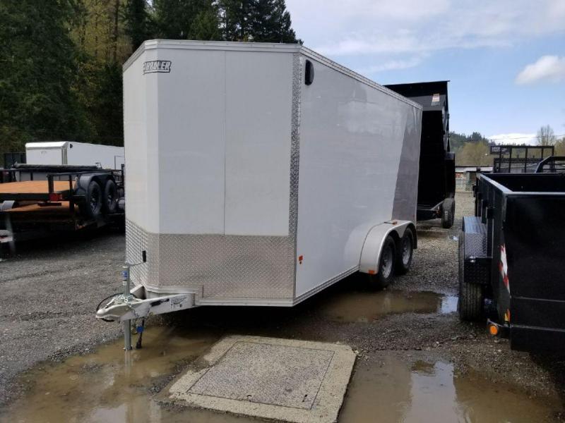 2018 EZ Hauler 7x14 All-Aluminum Enclosed Cargo Trailer - Ramp