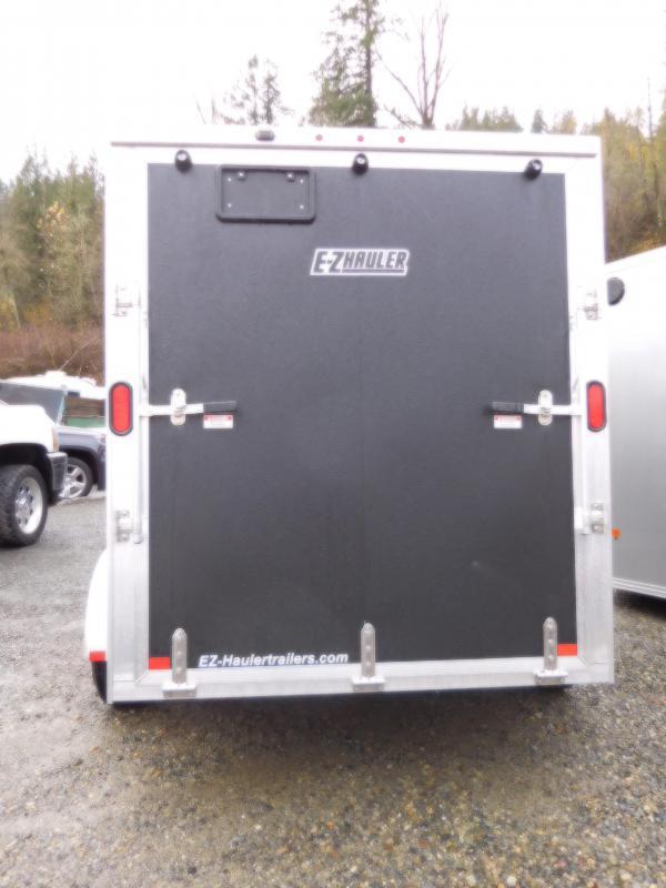 2018 EZ Hauler 6x10 Enclosed Cargo Trailer with Rear Ramp