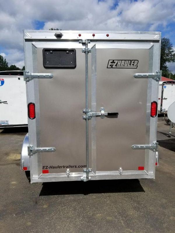 Custom 2018 EZ Hauler 5x8 All-Aluminum Enclosed Cargo Trailer w/Barn Doors
