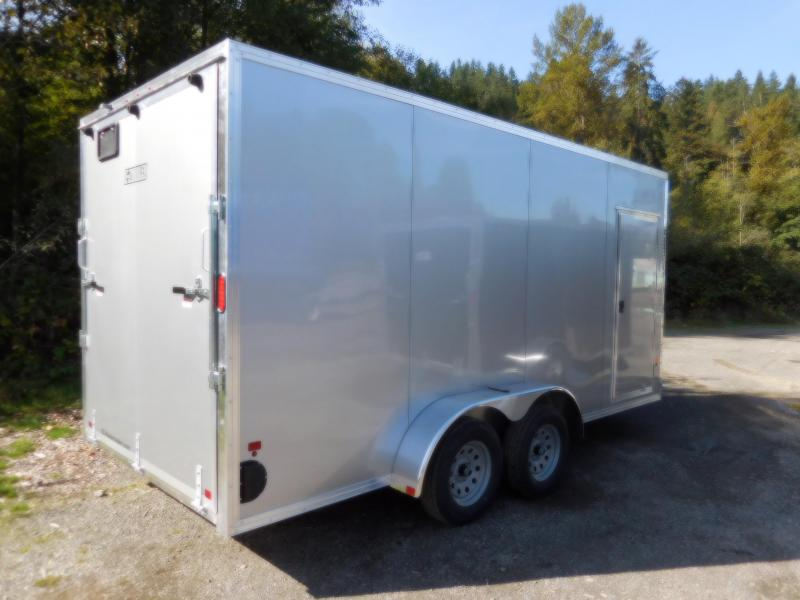 2019 EZ Hauler 7x16 All-Aluminum Enclosed Cargo Trailer