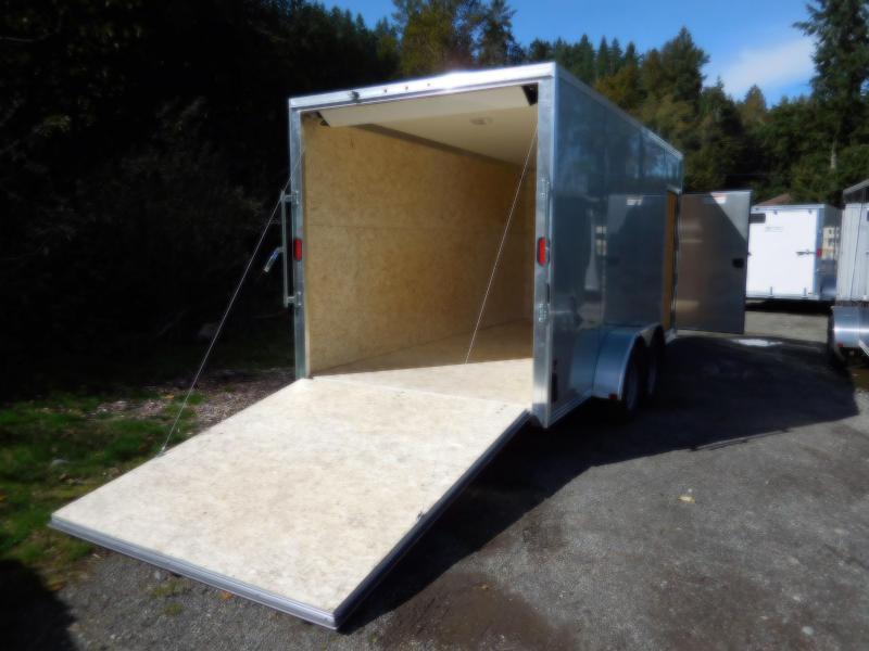2019 EZ Hauler 7x16 All-Aluminum Enclosed Cargo Trailer