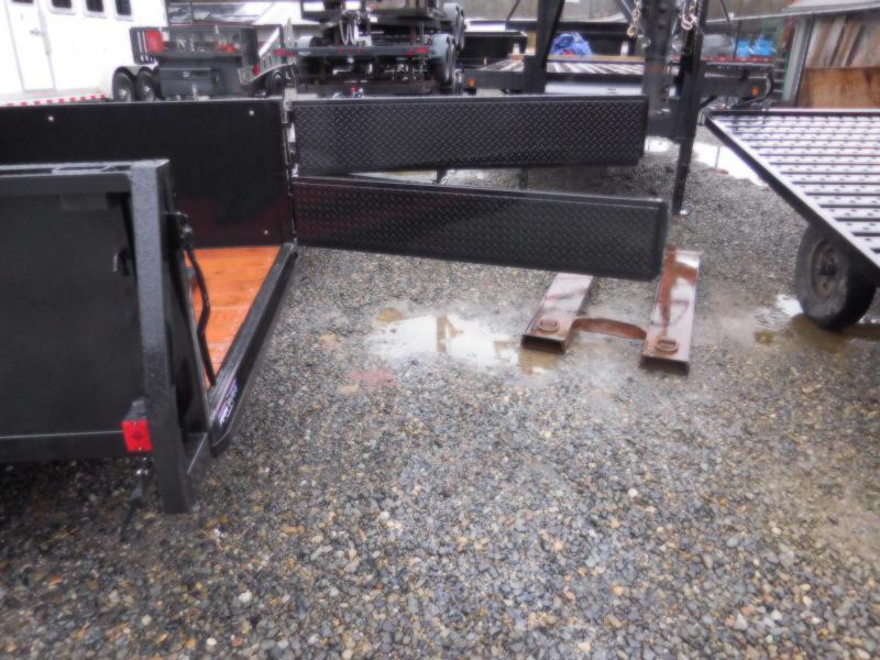 2018 Iron Eagle 5x8 Voyager Utility Trailer w/ Stake Pockets & Combo Split Ramp Gate