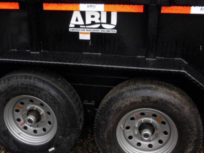 2019 ABU 7x14 HD 14K Industrial Scissor Lift Dump Trailer