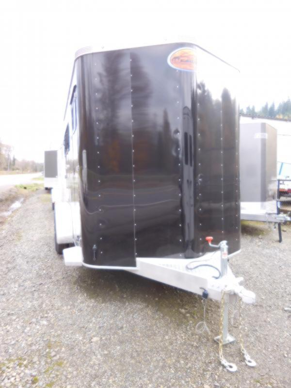 2018 Sundowner Sportman All-Aluminum 2 Horse Trailer