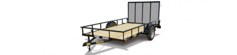 2019 Big Tex 35ES 77X12 Utility Trailer