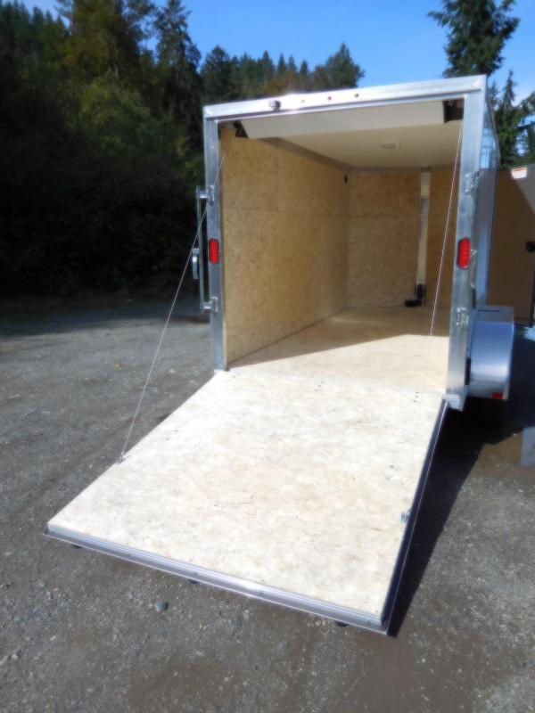 2019 EZ Hauler 6x12 All-Aluminum TA 7k Enclosed Cargo Trailer