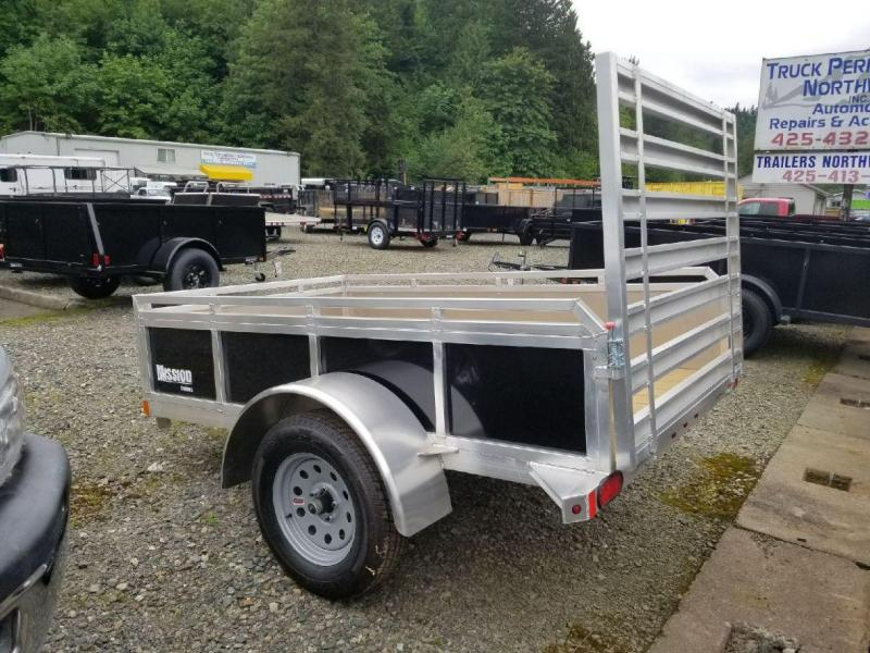 2017 Mission 5x8 SSR Utility Trailer