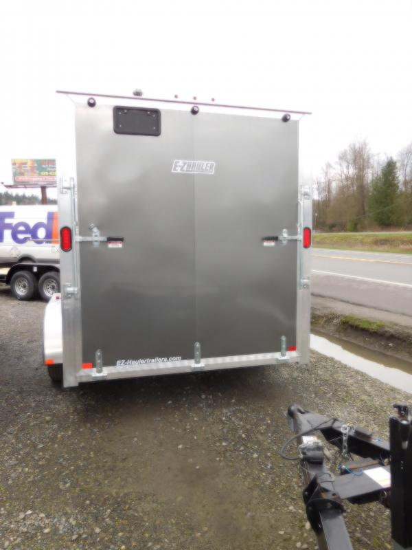 2018 EZ Hauler 7x14 All Aluminum Enclosed Cargo Trailer