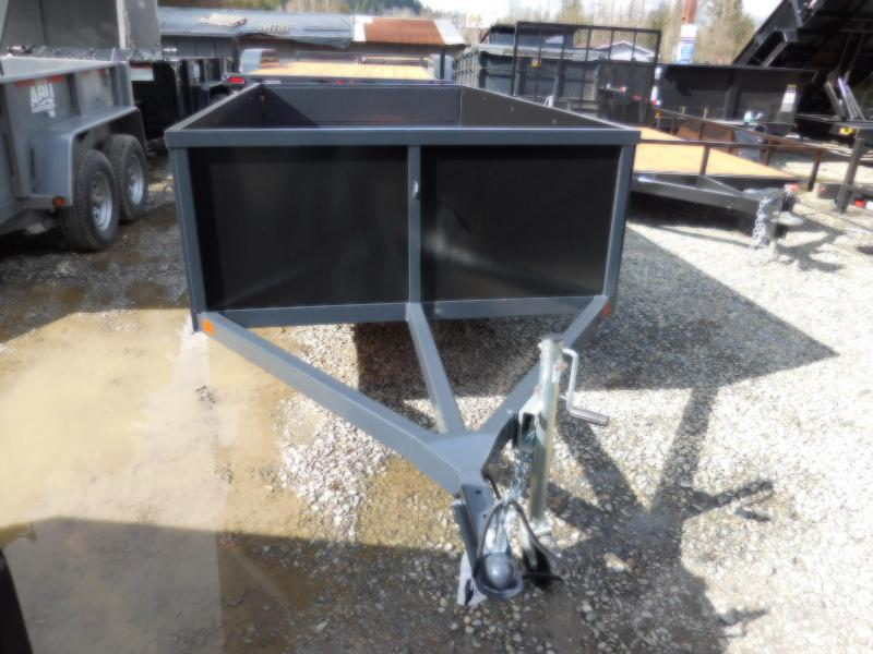2018 Iron Eagle 5x10 Voyager Series Utility Trailer with Split Combo Gate