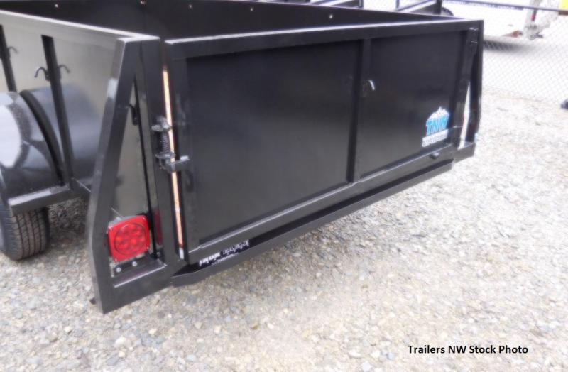 2018 Iron Eagle 5x10 Voyager Series Utility Trailer with Swing Gate