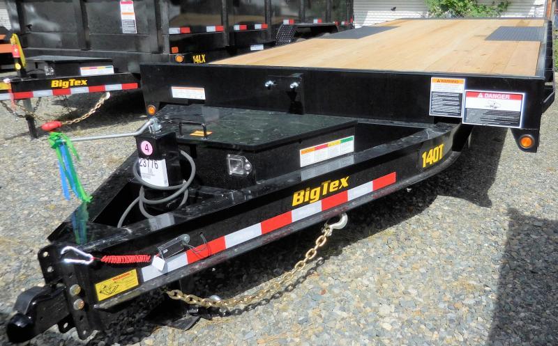 2020 Big Tex 14OT-22 Over-The-Axle Full-Tilt Power Up/Down Trailer