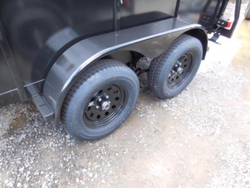 2019 Iron Eagle 6x12 Tandem Axle Split Ramp Utility Trailer