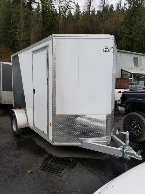 2018 EZ Hauler 6x10 All Aluminum Enclosed Cargo Trailer
