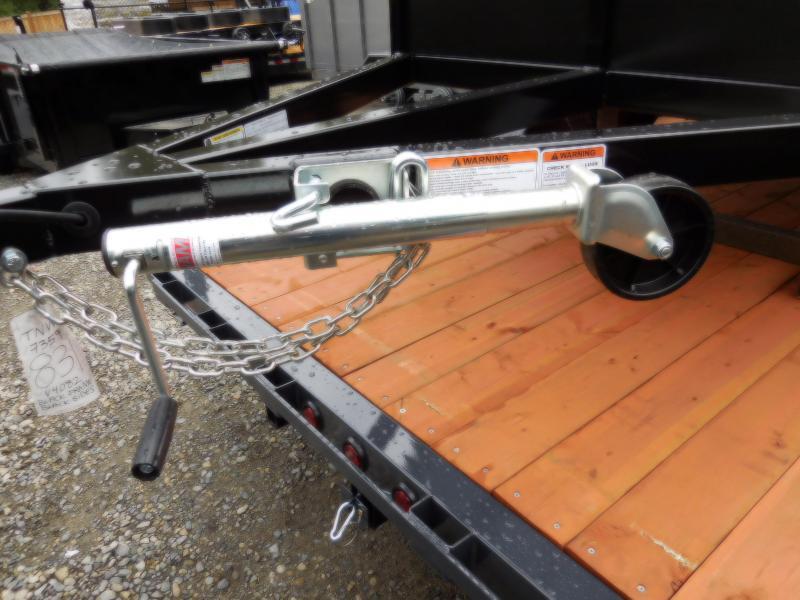 2018 Iron Eagle 4x8 Voyager Series Utility Landscape Trailer Split Ramp Tailgate