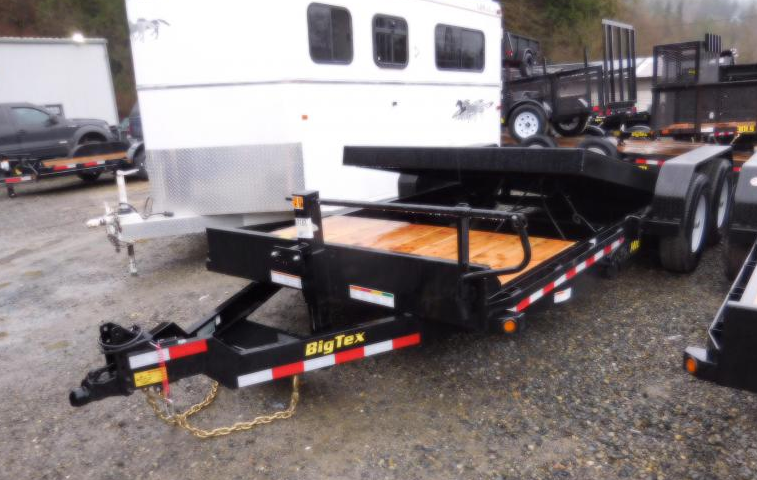"2020 Big Tex Trailers 14TL 80""x20' Flatbed Trailer"
