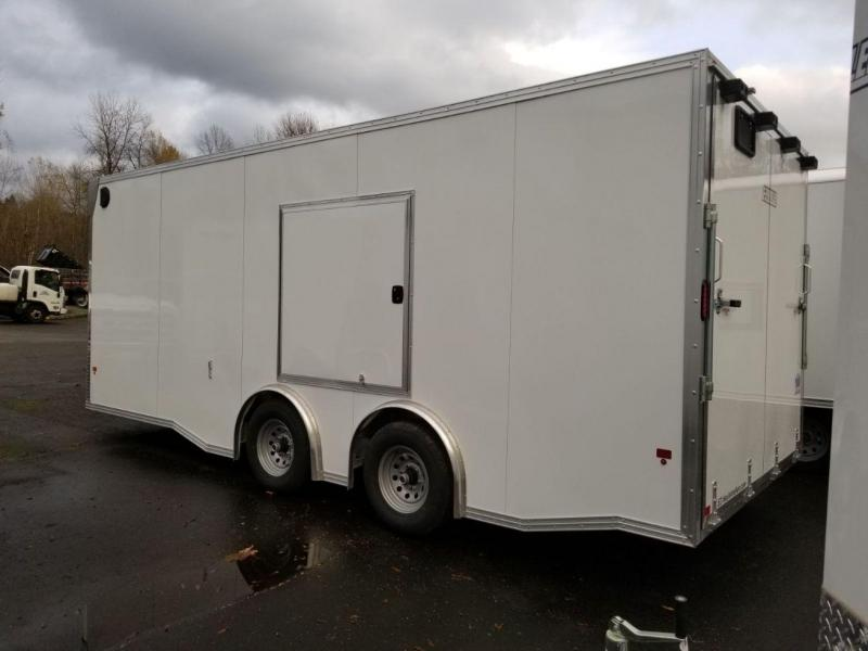 2019 EZ Hauler 8x20 Torsion Spread Axle 10k Enclosed Car Hauler Cargo Trailer