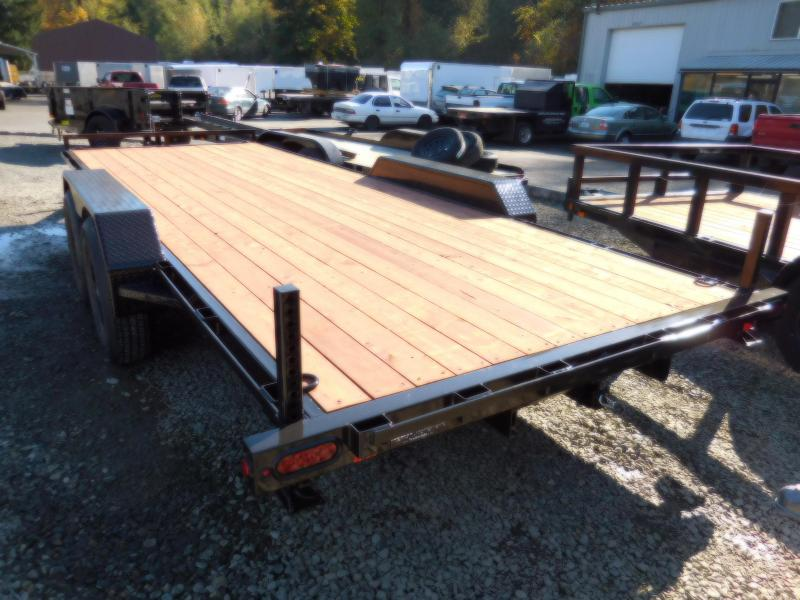 2019 Iron Eagle 7x20 14K Series Flatbed Equipment Trailer