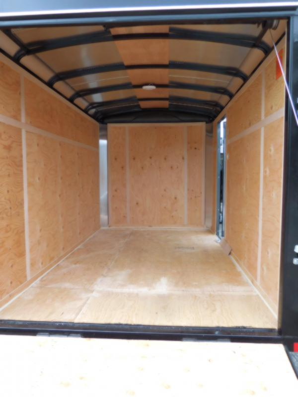 2018 Mirage Trailers 6x10 XPO Enclosed Cargo Trailer with Rear Ramp