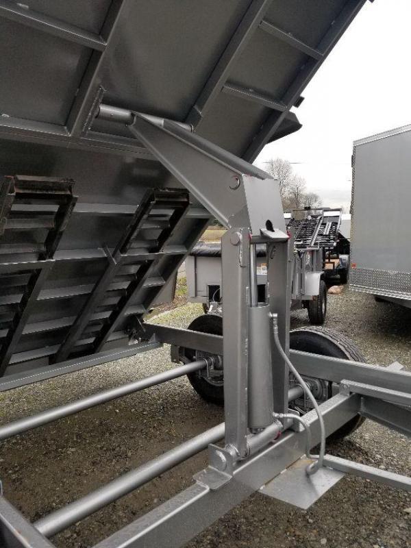 2019 ABU 7x14 14K Industrial Dump Trailer